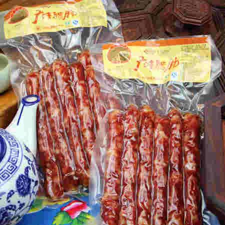 卫食园广味腊肠 农家自制香肠 广东腊肠广式腊肠腊肉腊肠180g*2袋
