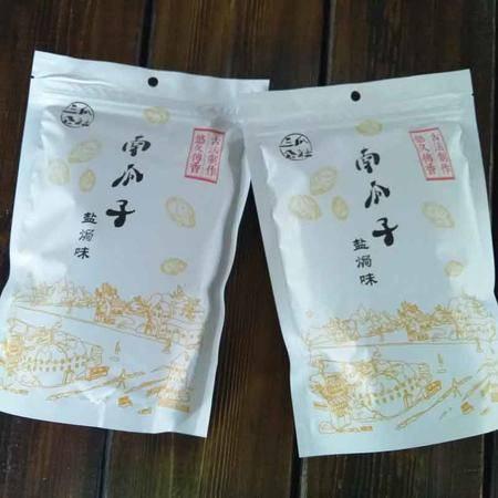 三瓜公社 南瓜子300g 休闲零食坚果炒货干货特产