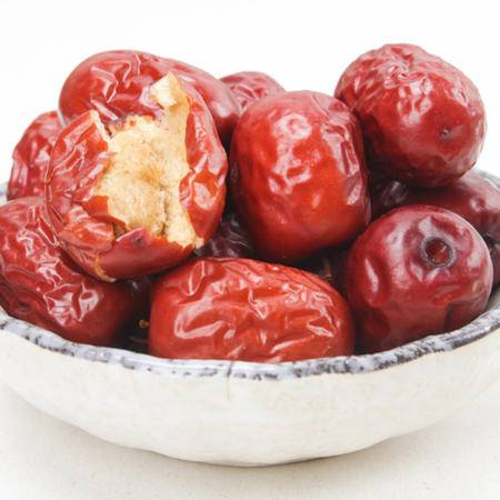 淮商农场 新疆特产阿克苏红旗坡特色野生红枣500g 灰枣 小果经 甜
