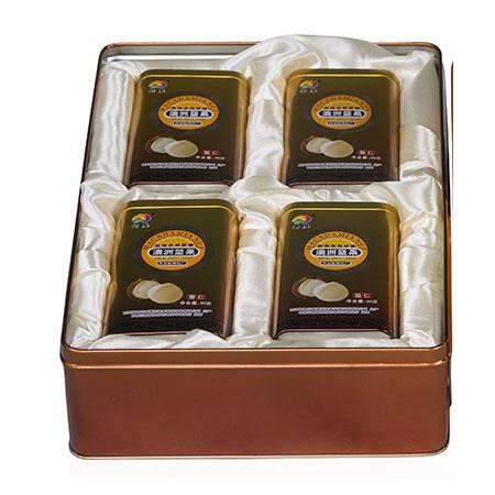 【西双版纳特产】云垦坚果夏威夷果礼品盒96克X4罐/盒