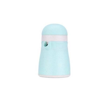 美之扣 手动双向企鹅榨汁杯 绿色、粉色 多色可选
