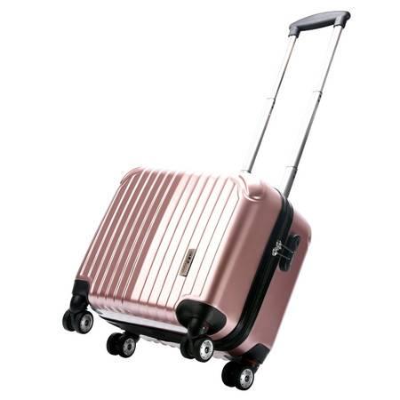 Surelaptop/秀乐途 万向轮拉杆箱17英寸男女旅行箱商务行李箱子镜面登机箱3036