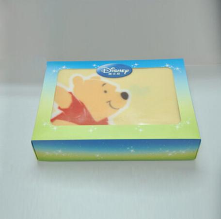 迪士尼 系列印花绒毯 卡通图案礼盒装
